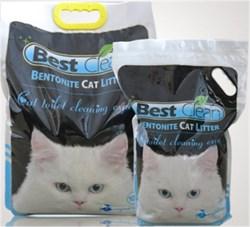 Best Clean - Наполнитель комкующийся для кошек оригинальный (без запаха) - фото 10156