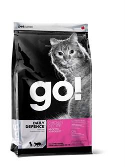 GO! Natural Holistic - Сухой корм для котят и кошек (с цельной курицей, фруктами и овощами) Refresh + Renew Chicken Cat Recipe - фото 4998