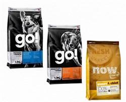 Go! Natural Holistic - Сухой корм для собак (холистик меню) Go & NOW Natural - фото 5000