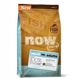 NOW Natural Holistic - Сухой корм беззерновой для взрослых кошек для чувствительного пищеварения (с форелью и лососем) Grain Free Fish Adult Cat Recipe - фото 5007