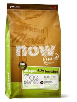 NOW Natural Holistic - Сухой корм беззерновой для малых пород всех возрастов (с индейкой, уткой и овощами) Fresh Small Breed Recipe Grain Free - фото 5014