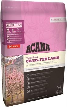 Acana Singles - Сухой беззерновой корм для собак всех пород гипоаллергенный (ягненок с яблоком) Grass-Fed Lamb - фото 5021