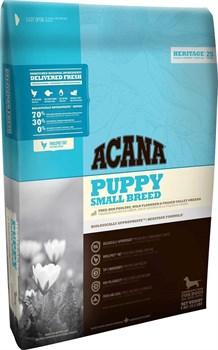 Acana Heritage - Сухой корм для щенков мелких пород Puppy Small Breed - фото 5022