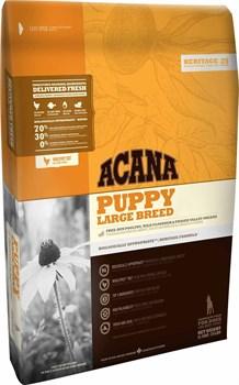Acana Heritage - Сухой корм для щенков крупных пород Puppy Large Breed - фото 5027