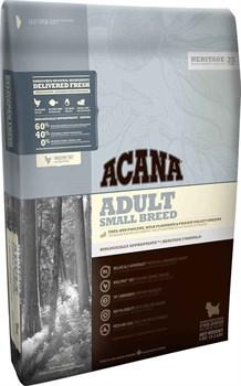 Acana Heritage - Сухой корм для взрослых собак мелких пород Adult Small Breed - фото 5028