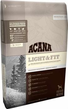 Acana Heritage - Сухой корм для собак всех пород низкокалорийный Light&Fit - фото 5031