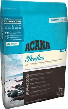 Acana Regionals - Сухой беззерновой корм для кошек, гипоаллергенный (рыба) Pacifica Cat - фото 5034