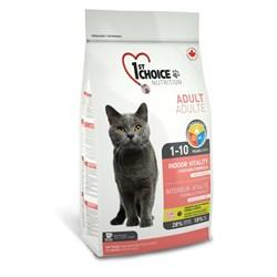 1St Choice - Сухой корм для домашних кошек Vitality (цыпленок) - фото 5045