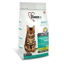 """1St Choice - Сухой корм для кастрированных и стерилизованных кошек """"Контроль Веса"""" - фото 5049"""