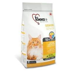 1St Choice - Сухой корм для кошек Mature or Less Active (цыпленок) - фото 5050