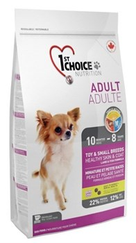 1St Choice - Сухой корм для декоративных собак (ягнёнок с рыбой и рисом) - фото 5053