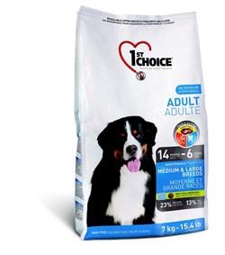 1St Choice - Сухой корм для собак средних и крупных пород (курица) - фото 5058