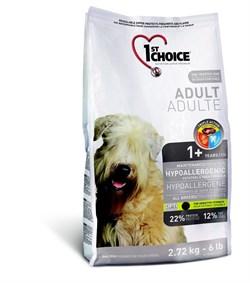 1St Choice - Сухой корм для собак гипоаллергенный (утка с картофелем) - фото 5060