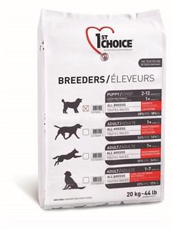 1St Choice - Сухой корм для щенков всех пород и кормящих сук Breeders - фото 5065