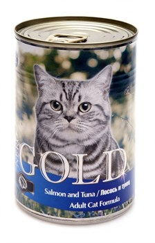 Nero Gold Super Premium - Консервы для кошек (лосось и тунец) Cat Adult Salmon & Tuna - фото 5069