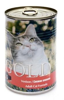Nero Gold Super Premium - Консервы для кошек (свежая оленина) Cat Adult Venison - фото 5071