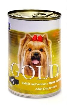 Nero Gold Super Premium - Консервы для собак (кролик и оленина) Dog Adult Rabbit & Venison - фото 5076