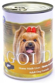 Nero Gold Super Premium - Консервы для собак (печень по-домашнему) Dog Adult Home Made Liver - фото 5079