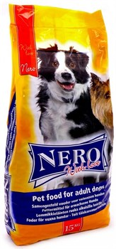 Nero Gold Super Premium - Сухой корм для взрослых собак всех пород (мясной коктейль) Nero Croc Economy with Love Adult Dog - фото 5087