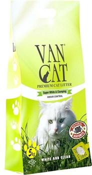 Van Cat - Наполнитель комкующийся без пыли для кошек (с ароматом соснового леса) Pine - фото 5128