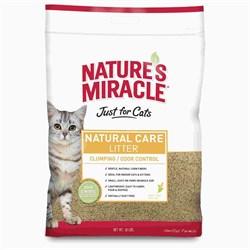 8in1 - Наполнитель комкующийся кукурузный для кошачьего туалета (натуральный свежий аромат) Nature's Miracle Odor Control Natural Care Cat Litter - фото 5132