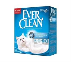 Ever Clean - Наполнитель комкующийся для кошек (без аромата, синяя полоса) Extra Strong Unscented - фото 5140