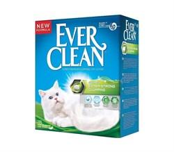 Ever Clean - Наполнитель комкующийся для кошек (с ароматизатором, зеленая полоса) Extra Strong Scented - фото 5141
