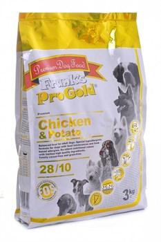 Frank's ProGold - Сухой корм для собак беззерновой (с курицей и молодым картофелем) Chicken&Potato - фото 5156