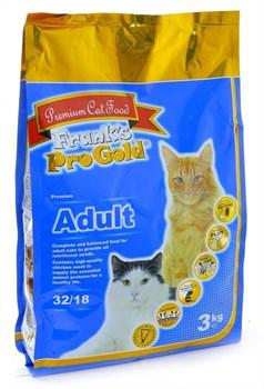 Frank's ProGold - Сухой корм для взрослых кошек (с курицей) Adult - фото 5162