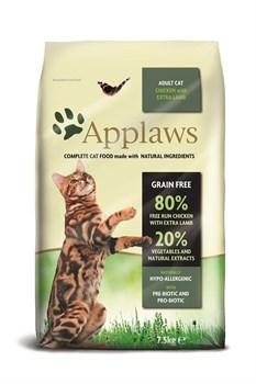 Applaws - Сухой корм беззерновой для кошек (с курицей и ягненком) Dry Cat Chicken With Lamb - фото 5180