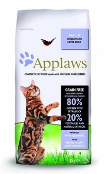 Applaws - Сухой корм беззерновой для кошек (с курицей, уткой и овощами) Dry Cat Chicken with Duck - фото 5182