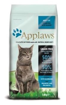 Applaws - Беззерновой корм для кошек (с океанической рыбой) Dry Cat Ocean Fish with Salmon - фото 5184
