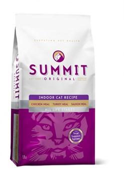 Summit Holistic - Сухой корм для котят и кошек (с цыплёнком, лососем и индейкой) - фото 5192