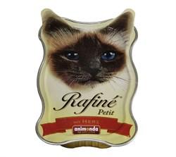 Animonda - Консервы для взрослых кошек (с сердцем) Rafine Petit - фото 5199