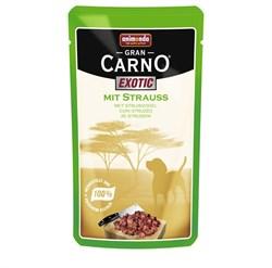 Animonda - Паучи для собак (с мясом страуса) Gran Carno Exotic - фото 5219
