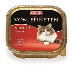 Animonda - Консервы для кошек старше 7 лет (с говядиной) Vom Feinsten Senior - фото 5221