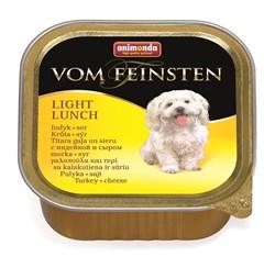 """Animonda - Консервы для собак """"Облегченное меню"""" (с индейкой и сыром) Vom Feinsten Light Lunch - фото 5223"""