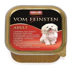 Animonda - Консервы для собак (с говядиной и сердцем индейки) Vom Feinsten Adult - фото 5225
