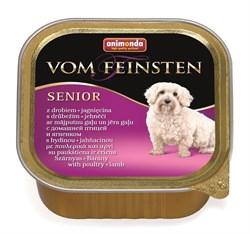 Animonda - Консервы для собак старше 7 лет (с мясом домашней птицы и ягнёнком) Vom Feinsten Senior - фото 5231
