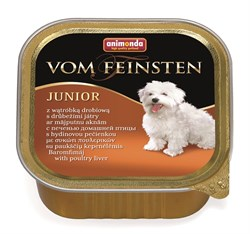 Animonda - Консервы для щенков и юниоров (с печенью домашней птицы) Vom Feinsten Junior - фото 5236