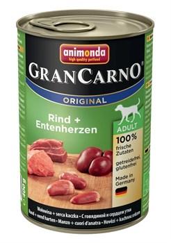 Animonda - Консервы для взрослых собак (с говядиной и сердцем утки) GranCarno Original Adult - фото 5261