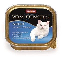 Animonda - Консервы для взрослых кошек (с лососем и креветками) Vom Feinsten Adult - фото 5267