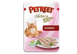 Petreet - Паучи для кошек (макрель) Natura 100% - фото 5327