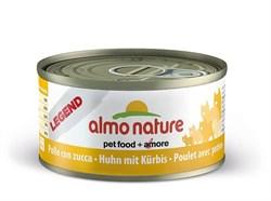 Almo Nature - Консервы для кошек (с курицей и тыквой, 75% мяса) Legend Adult Cat Chicken & Pumpkin - фото 5338
