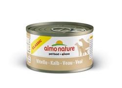 Almo Nature - Консервы для собак (с телятиной) Classic Veal - фото 5345