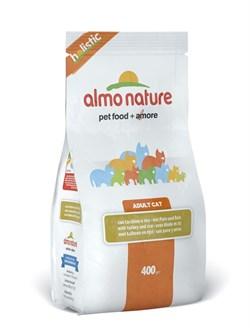 Almo Nature - Сухой корм для взрослых кошек (с индейкой) Holistic Turkey - фото 5361