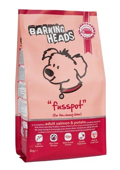 "Barking Heads - Сухой корм для собак ""Суета вокруг миски"" (с лососем и картофелем) Fusspot (Salmon & Potato Adult) - фото 5388"