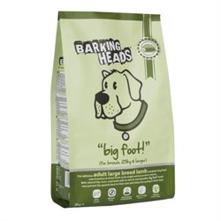"""Barking Heads - Сухой корм для собак крупных пород """"Ягненок для большелапого"""" (с ягненком и рисом) Big Foot Bad Hair Day - фото 5390"""