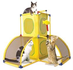"Kitty City - Игровой комплекс для кошек Версаль ""Kitty Play Palace"", 70*70*70см - фото 5715"