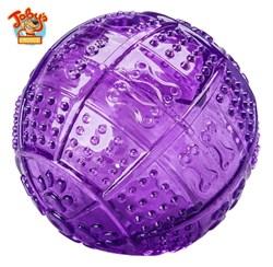 """Kitty City - Игрушка для собак """"Мяч для развлечения и угощения"""" Toby's Choice Treat ball, 8,2 см - фото 5730"""